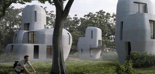 不可思议!未来房子不用盖,荷兰推出全球首个3D打印住宅区