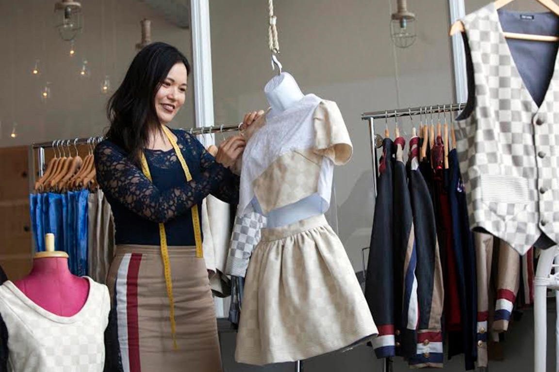 """专访Angelle Chang — """"为爱而生""""的荷兰华裔时装设计师"""