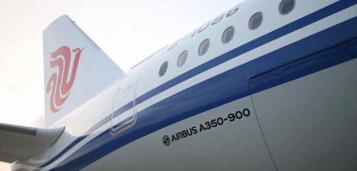 中国东方航空A350-900首航阿姆斯特丹 —上海航线