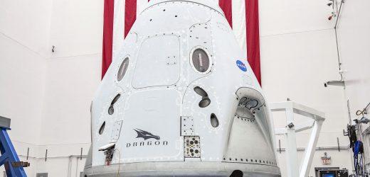 SpaceX载人龙飞船首次载人飞行任务时间定为5月27日