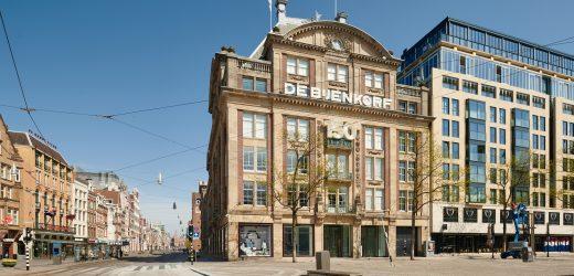 在闭店40余天后, 4月29日,De Bijenkorf荷兰女王店百货所有门店将重新开始营业!