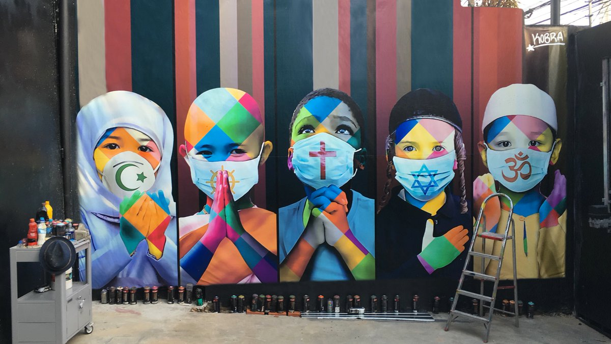 Corona art takes over the world