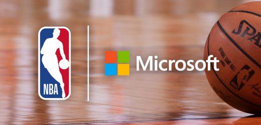 微软和NBA宣布建立多年合作关系